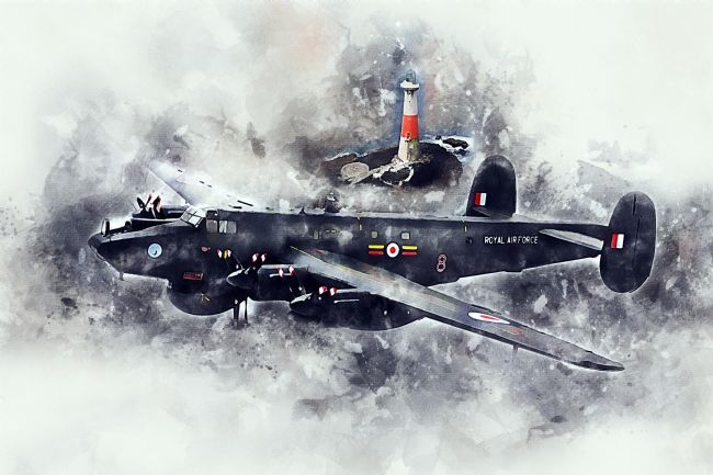 James Biggadike | Avro Shackleton - Painting