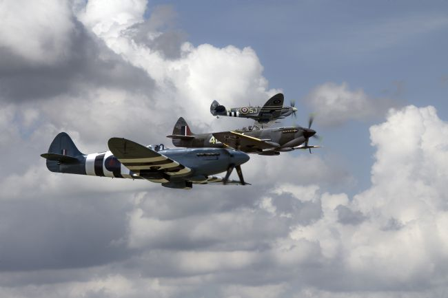 James Biggadike | BBMF Spitfires