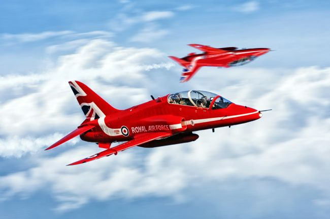 James Biggadike | Red Arrows Roll Round