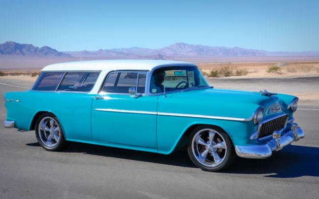 Christine Fitzgerald | The Chevvy Bel Air Nomad Station Wagon