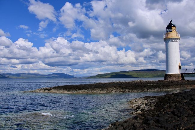 Elvia Worrall | Tobermory Lighthouse Argyll and Bute Scotland