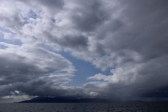 Elvia Worrall | Clouds over Isle of Arran, Scotland