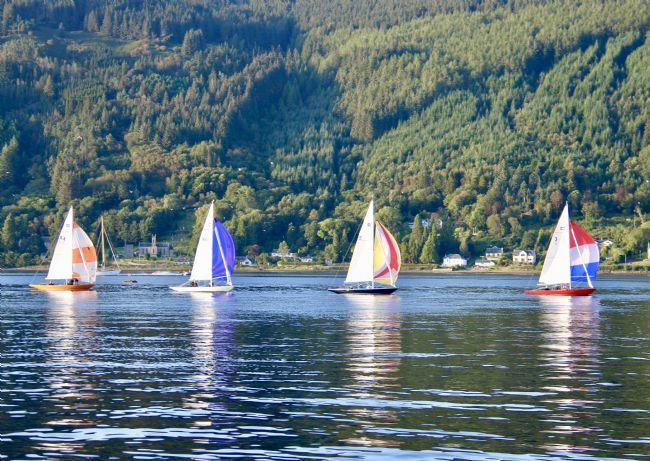 Elvia Worrall | Holy Loch Sloops