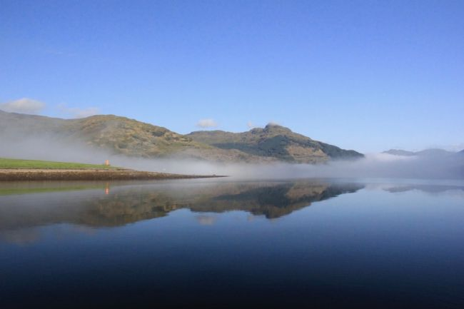 Elvia Worrall | Misty  Morning, Loch Goil