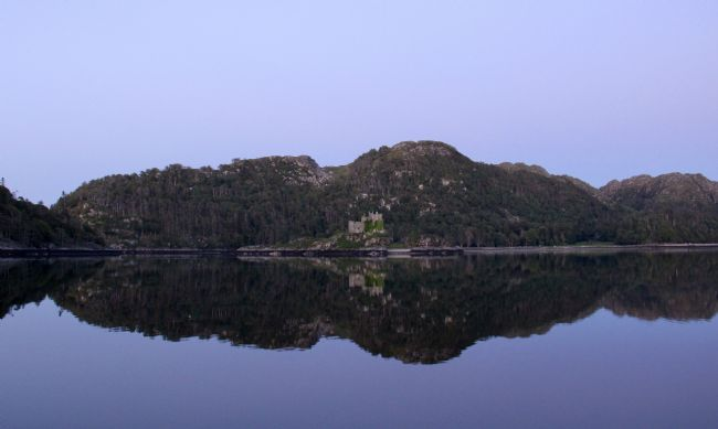 Elvia Worrall | Castle Tioram Reflection