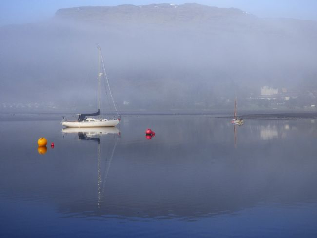 Lynn Bolt |  Early Morning Mist Lochgoilhead