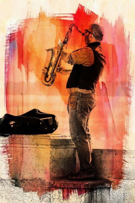 Lynn Bolt | The Saxophonist
