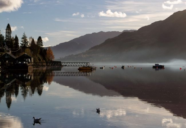 Lynn Bolt | Autumn Mist on Loch Goil Argyll