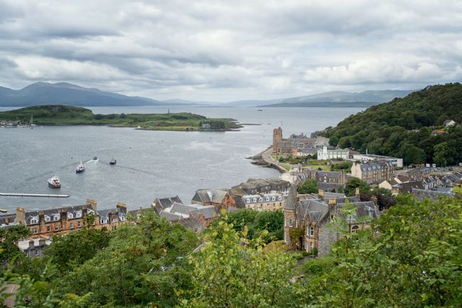 Lynn Bolt | The View from McCaigs Tower Oban