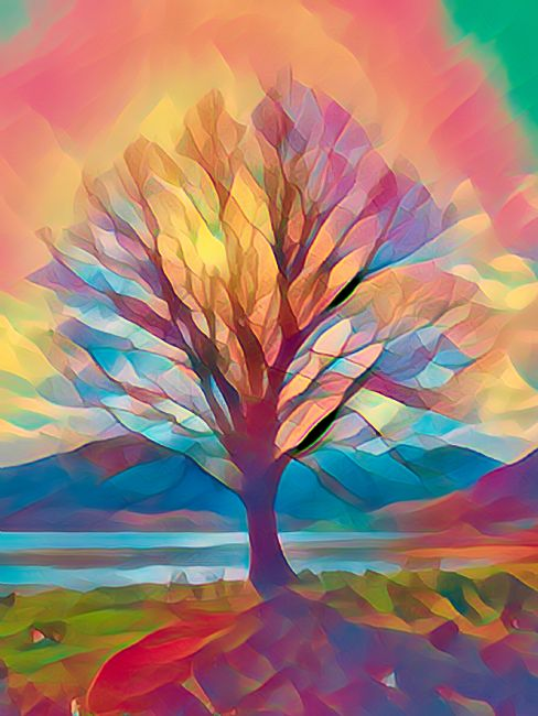 Lynn Bolt | Rainbow Tree