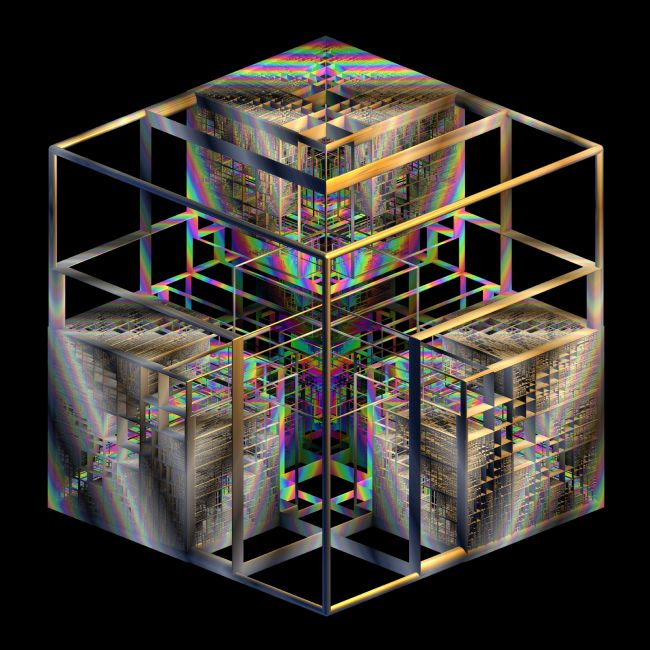 Lynn Bolt | 3D Rainbow Box