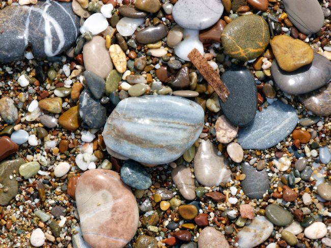Lynn Bolt | Pebbles on the Beach