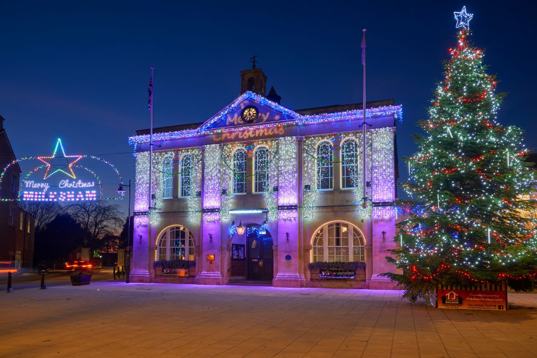 Christopher Chard | Christmas lights at Melksham