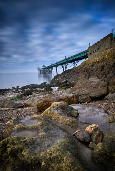 Christopher Chard | Clevedon pier in Somerset United Kingdom