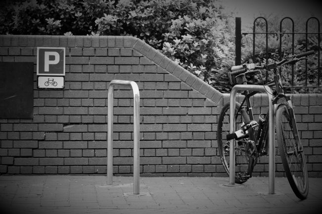 Warren Byrne | Pushbike Parking Only
