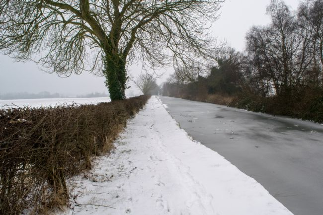 Warren Byrne | Fazeley Canal Side in the Snow 2