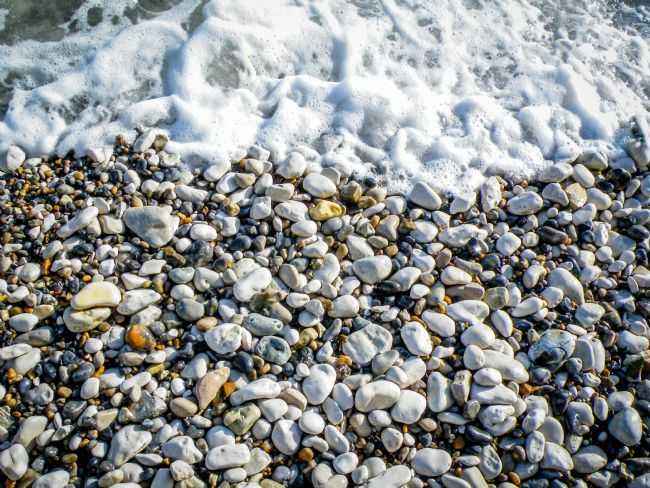 Warren Byrne | Lulworth Cove Pebbles on the Beach