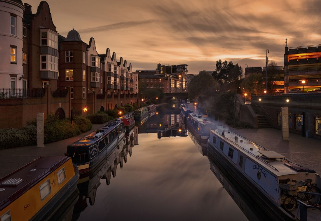 Jon Jones | The Canals of central Birmingham in the West Midlands
