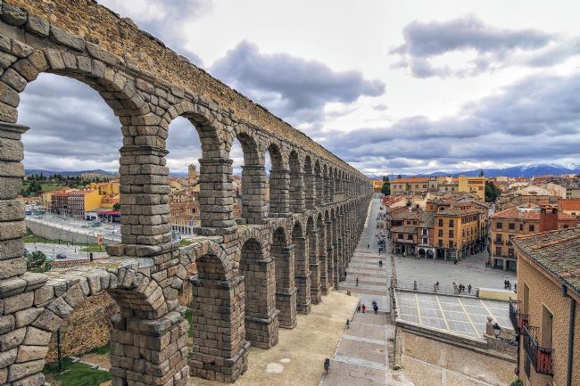 Jon  Jones | The Aqueduct in Segovia, Spain