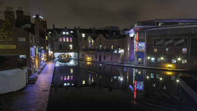 Jon Jones | Gas Street Basin, Birmingham